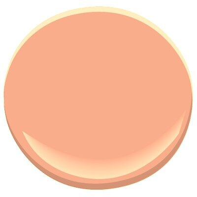Intense peach 081 paint benjamin moore intense peach for Benjamin moore paint store san francisco