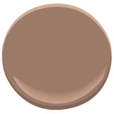 Fox Hollow Brown 1235 Paint Benjamin Moore Fox Hollow Brown Paint Colour Details