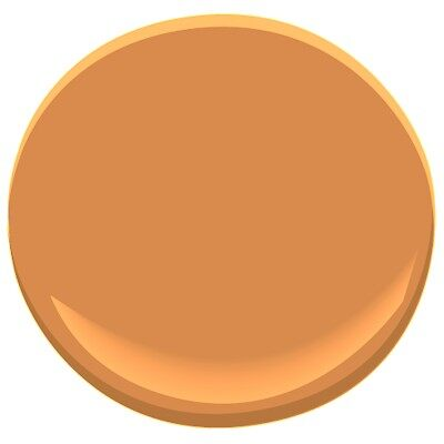 Pumpkin spice 126 paint benjamin moore pumpkin spice for Pumpkin spice paint living room