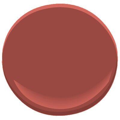 Spanish Red 1301 Paint Benjamin Moore Spanish Red Paint