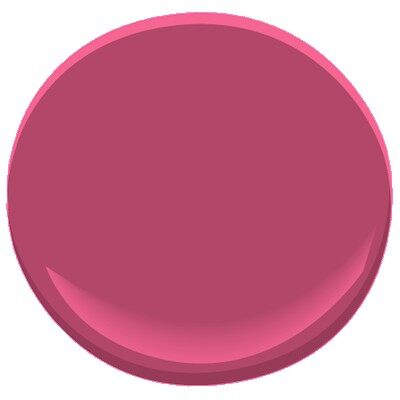 Pink Corsage 1349 Paint Benjamin Moore Pink Corsage
