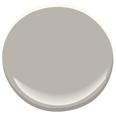 La paloma gray 1551 paint benjamin moore la paloma gray for Thunder grey benjamin moore