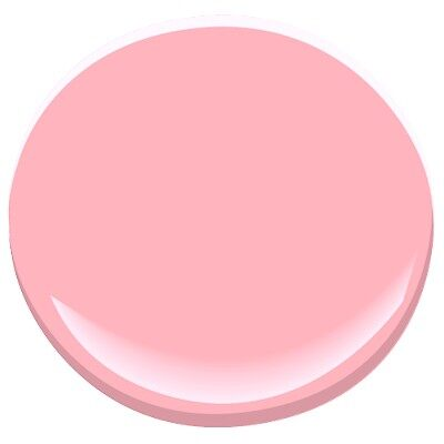 Tickled Pink 2002 50 Paint Benjamin Moore Tickled Pink