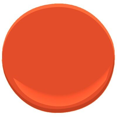 Outrageous Orange 2013 10 Paint Benjamin Moore Ask Home