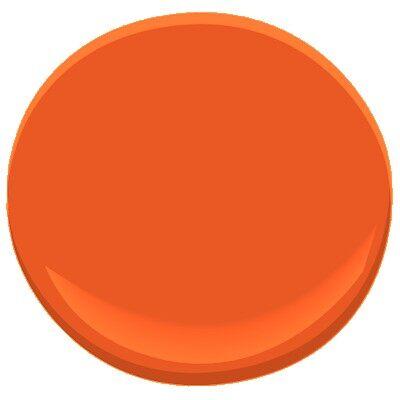 Festive orange 2014 10 paint benjamin moore festive for Benjamin moore paint colors 2014