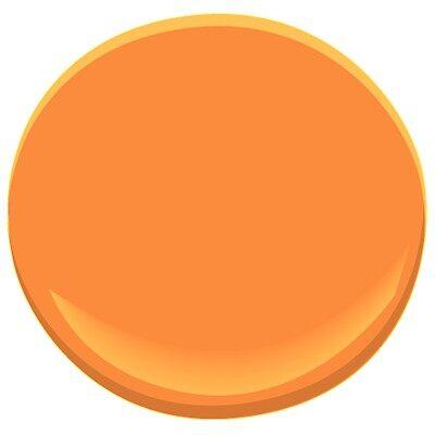 calypso orange 2015-30 paint - benjamin moore calypso orange paint