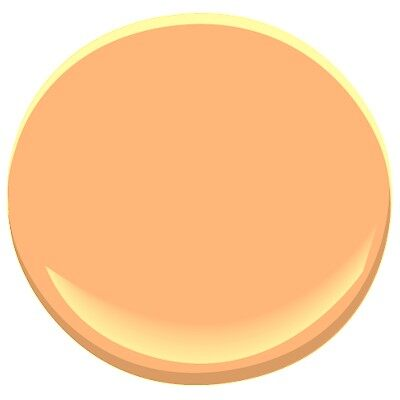 Peach sorbet 2015 40 paint benjamin moore peach sorbet - How to make peach color paint ...