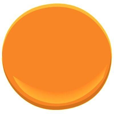 Citrus Orange 2016 20 Paint Benjamin Moore Citrus Orange
