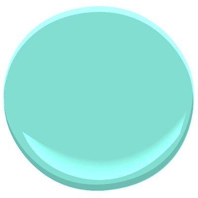 scuba green 2046-50 paint - benjamin moore scuba green paint color