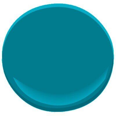 Caribbean Blue Water 2055 30 Paint Benjamin Moore Color Details