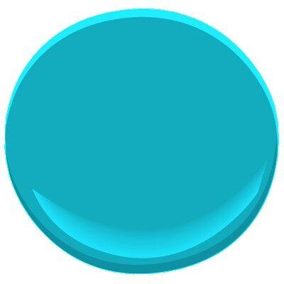 Benjamin Moore Blue Paint