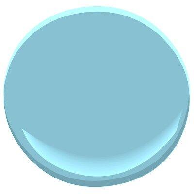 Turquoise powder 2057 50 paint benjamin moore turquoise for Benjamin moore turquoise colors