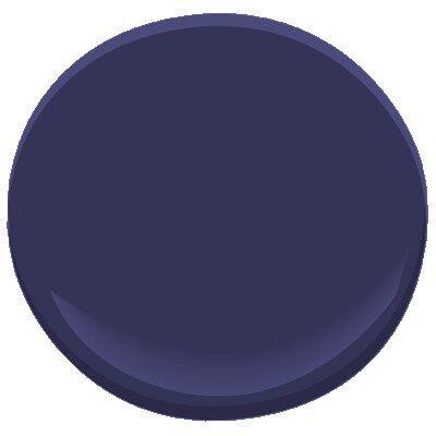 Midnight Navy 2067 10 Paint Benjamin Moore Midnight Navy