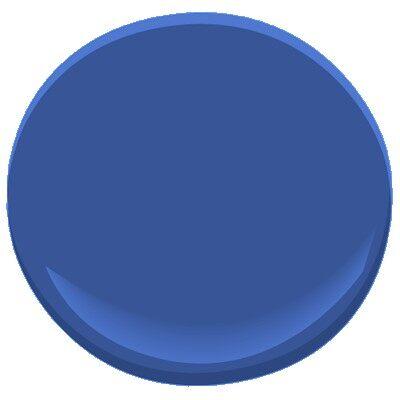 Benjamin Moore Twilight Blue Car Interior Design