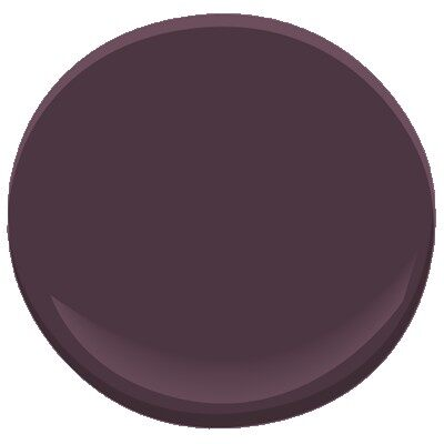 Dark Purple 2073 10 Paint Benjamin Moore Dark Purple Paint Color Details