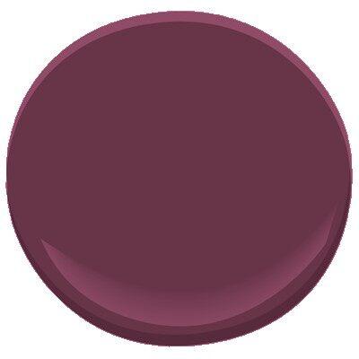 Dark Burgundy 2075 10 Paint Benjamin Moore Dark Burgundy
