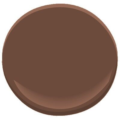 Toasted Brown 2097 10 Paint Benjamin Moore Toasted Brown Paint Color Details