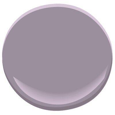 Hazy lilac 2116 40 paint benjamin moore hazy lilac paint color