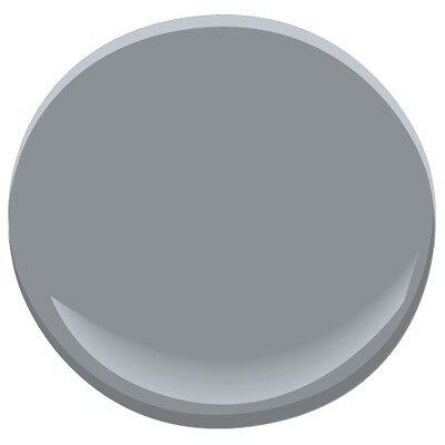 Deep silver 2124 30 paint benjamin moore deep silver for Deep grey color