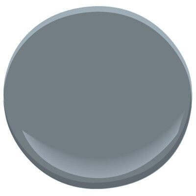 wolf gray 2127-40 paint - benjamin moore wolf gray paint color details