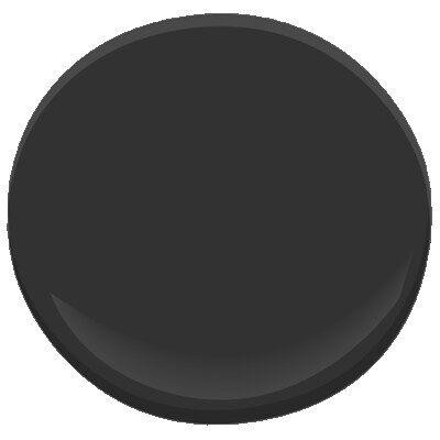 black 2132 10 paint benjamin moore black paint color details. Black Bedroom Furniture Sets. Home Design Ideas