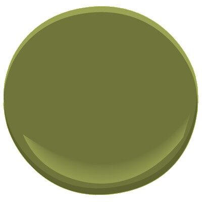 Does Anyone Have A Ben Moore Paint In Green In Their House