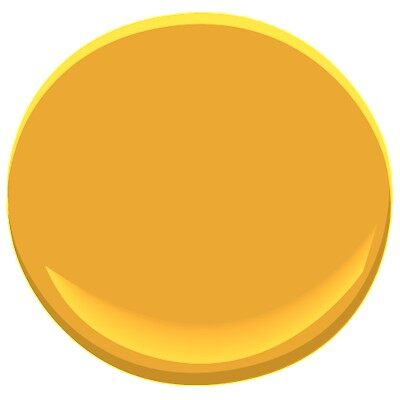 Yellow Marigold 2155 30 Paint Benjamin Moore Yellow Marigold Paint Colour Details