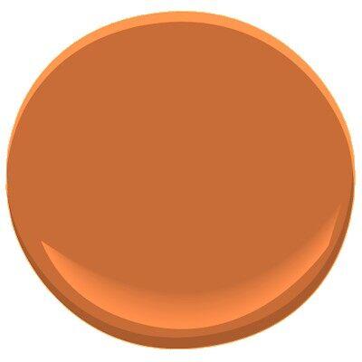 Burnt caramel 2167 10 paint benjamin moore burnt caramel paint