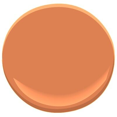 Orange Blossom 2168 30 Paint Benjamin Moore Orange
