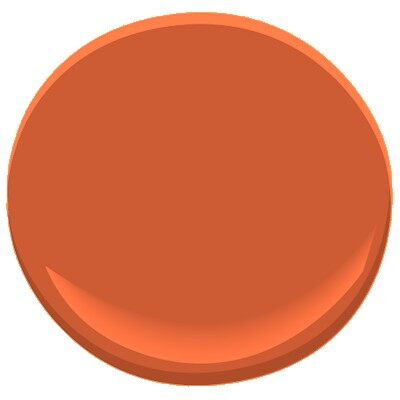 Racing Orange 2169 10 Paint Benjamin Moore Racing Orange