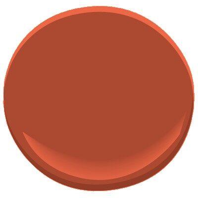 Navajo red 2171 10 paint benjamin moore navajo red paint for Navajo red benjamin moore