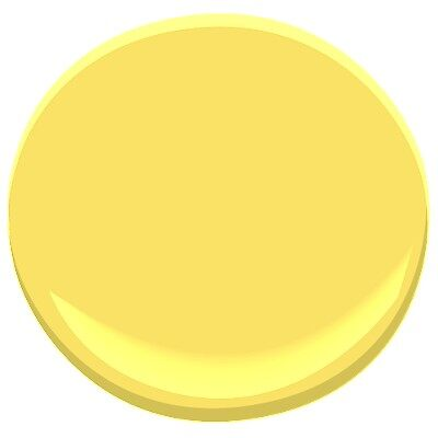 Delightful Yellow 335 Paint Benjamin Moore Delightful