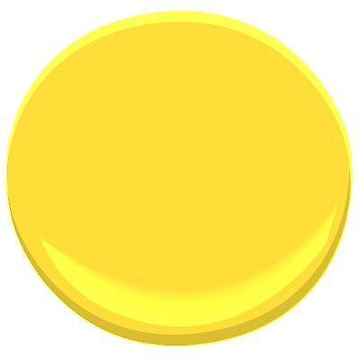 28 Bold Yellow 336 Paint Benjamin Similiar Benjamin