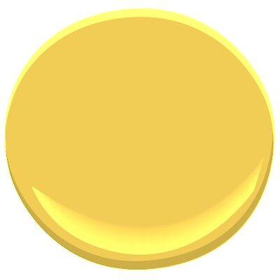 Yellow Brick Road 349 Paint Benjamin Moore Yellow Brick Road Paint Colour Details
