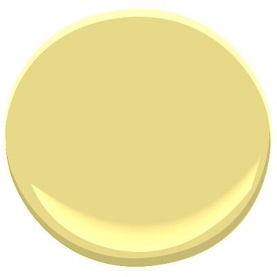 Mulholland Yellow 369 Paint Benjamin Moore Mulholland