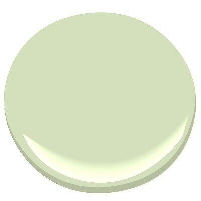 Benjamin moore soothing green hollingsworth green by for Benjamin moore light green