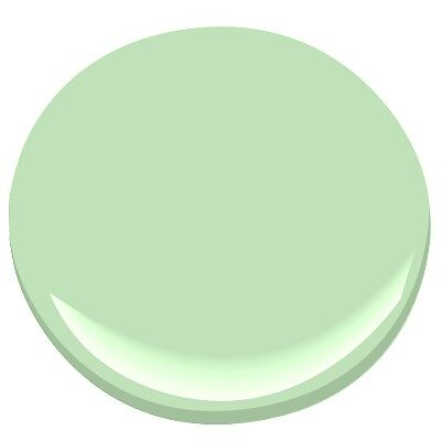 Honeydew 549 Paint Benjamin Moore Honeydew Paint Colour