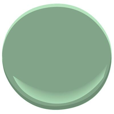 Winchester Sage 628 Paint Benjamin Moore Winchester Sage