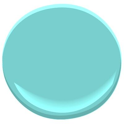 Mexicali turquoise 662 paint benjamin moore mexicali for Benjamin moore turquoise colors