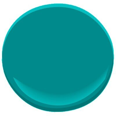Tropical teal 734 paint benjamin moore tropical teal for How to make teal paint