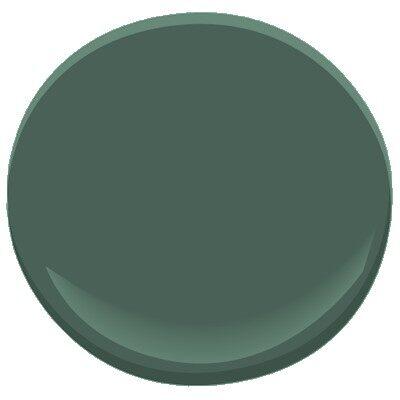 Lafayette green hc 135 paint benjamin moore lafayette for Dark green paint colors