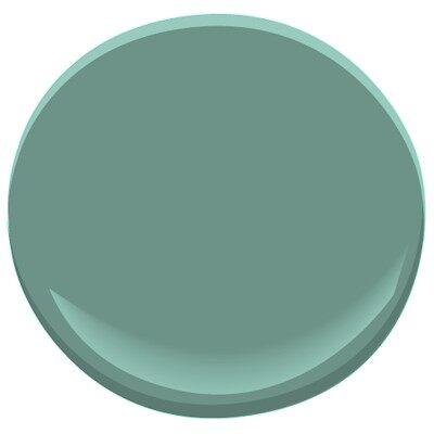 Waterbury Green Paint