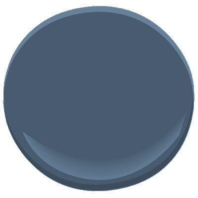 Van Deusen Blue Hc 156 Paint Benjamin Moore Van Deusen