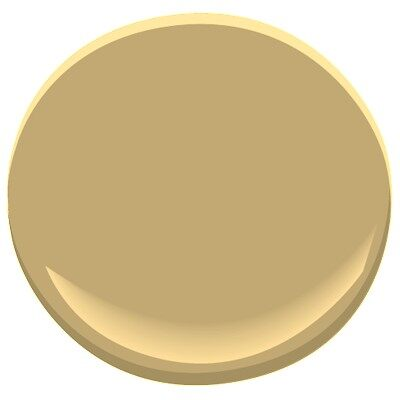Summerdale gold hc 17 paint benjamin moore summerdale - Popular gold paint colors ...