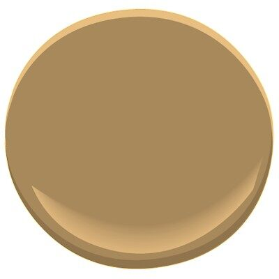 Mystic gold hc 37 paint benjamin moore mystic gold paint - Popular gold paint colors ...