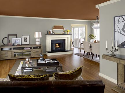 Benjamin Moore Color Trends 2013 Artisan gray living room 2