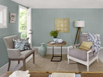 Benjamin Moore Color Trends 2013 Coastal blue home office 2