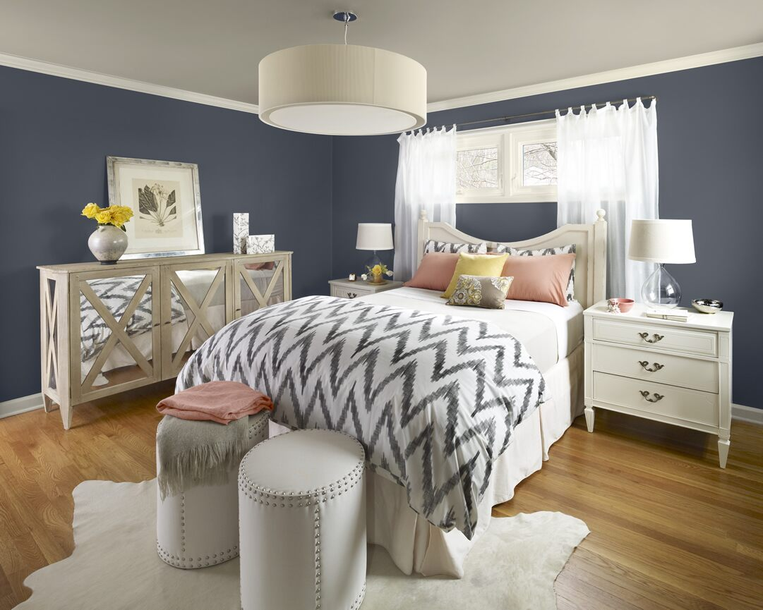 Navy Blue Bedroom Color Ideas 1081 x 865