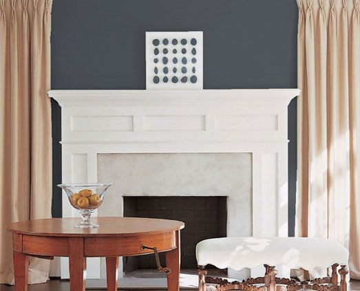 Darryl Carter Gray Accent Color Ideas Benjamin Moore