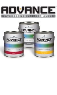 <h1>Innovative Waterborne Alkyd for Cabinetry. Achieve a superb alkyd finish with low-VOC, soap-and-water cleanup ADVANCE paint.</h1>LEARN MORE